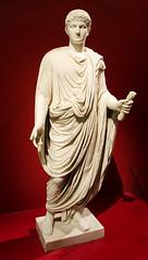 Statue from Pompeii (Saomik) Tags: 2015 august toronto ontario canada rom royalontariomuseum