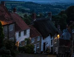 Shaftesbury's Gold Hill in the evening (Bob Radlinski) Tags: dorset europe goldhill greatbritain shaftesbury uk travel england em1d0851orf
