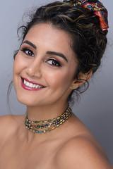 Yasaman - Beauty Portrait (bonavistask8er) Tags: nikon d7100 85mm model portrait beauty fashion makeup smile strobist sb910 yn560 rapidbox umbrella cactus v5