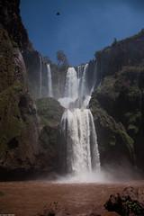 Ouzoud falls (thierry_meunier) Tags: afrique azilal hautatlas highatlas maroc morocco ouzoud arcenciel campagne cascades chutes falls femme homme landscape man monkey nature rainbow singe travel voyage water woman