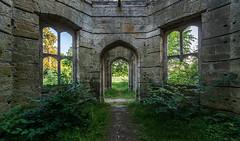 Abandoned Dunmore House, Falkirk Scotland
