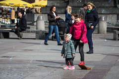 2V6A5255 (danielpronger) Tags: children girls kid kids people play fun bubbles poland krakow travel canon 7d mark ii