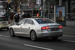 Slovakia Diplomatic (Sweden) - Audi A8L D4 (PrincepsLS) Tags: slovakia slovak diplomatic license plate 09 sweden germany berlin spotting audi a8l d4