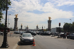 Paris Street Scene (lazy south's travels) Tags: paris france french urban street scene capital city bridge river seine avenuewinstonchurchill traffic chaos