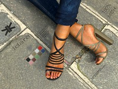 Idara :: Woman Shoes :: 10 Colors ({kokoia}) Tags: idara mesh kokoia slink shoes shoe feet black pack maitreya belleza themeshproject tmp stiletto high summer heel woman avatar straps highheelssecondlife secondlife 3d