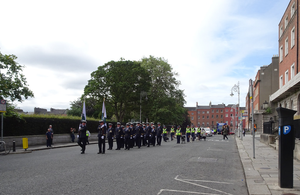 NATIONAL SERVICES DAY [PARADE STARTED OFF FROM NORTH PARNELL SQUARE]-143555