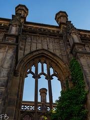 Church of Saint Luke (frisiabonn) Tags: wirral liverpool england uk britain mersey merseyside outdoor gothic church saint luke bombed damaged anglican northwest city religion worship christian