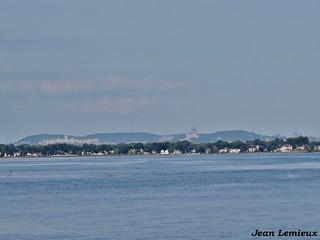 Le Mont-Royal vue de Pointe-Claire