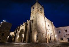 Concatedral de Santa María (Cáceres) (Afotos Amanta) Tags: cáceres iglesia santa maria noche extremadura españa concatedral catedral canon80d tokina116