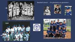 """Baseball Verdun """" De génération en génération - (lacostejm) Tags: baseball baseballquébec sport histoire"""