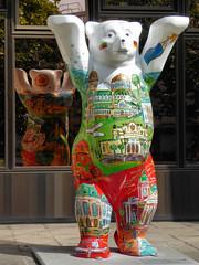 Buddy Bear (Gertrud K.) Tags: buddybears berlin sculptures reflections