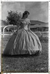 _EMA0097 (ema.mon) Tags: italia varese lombardia borgodimustonate woman 800 maneggio blackandwhite blackandwhitephotography rievocazionestorica oldstyle borgo mustonate