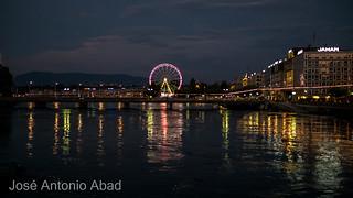 Lac Léman. Genève