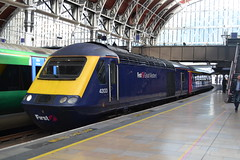 Great Western Railway HST 43133 (Will Swain) Tags: london paddington station 10th may 2018 greater capital city gwr first group train trains rail railway railways transport travel uk britain vehicle vehicles england english williamsdigitalcamerapics101 class 43 great western hst 43133 133