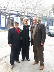 13/09/18 - Visita a Santa Vitória do Palmar: com amigos fundadores do PSDB, Elísio Fausto San Martin e Bercílio Silva.