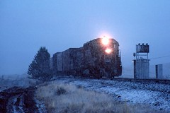 Too cold for a hotbox (C.P. Kirkie) Tags: southernpacific sp spmodocline modocline modoccounty alturascalifornia northeasterncalifornia northerncalifornia emd sd45 sd9 freighttrain trains railroads