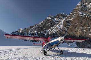 Glacier landing - Alaska