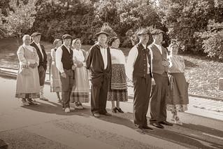 Euskal eskontza. Basque wedding. Boda vasca. Mariage basque