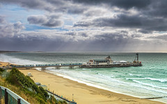 Bournemouth Pier (nicklucas2) Tags: seascape beach bournemouth pier sea sand seaside cloud wave solent weather
