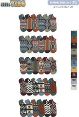 Sp14 mens 70s Vibe v1 (boodiba) Tags: sockdesign hosierydesign surfacedesign target adobeillustrator photoshop graphicdesign