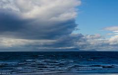 Clouds Are Back!! (BGDL) Tags: lightroomcc nikond7000 bgdl landscape nikkor18105mm3556g seascape prestwick firthofclyde weather arran cloudsareback