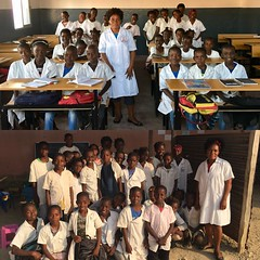before and after (mariolasobol) Tags: newschool newclassroom teacher students africa education student beforeandafter