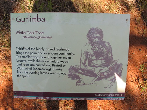 White Tea Tree sign