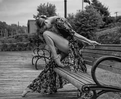 (steveedreff) Tags: shoes pointe pointes legs pretty female girl woman beautiful sexy person dancing dancer dance sit park bench ballerina ballet