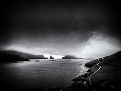The Road to Bøur (Feldore) Tags: faroeislands bour faroe islands landscape moody road sea mykines overcast clouds cloudy