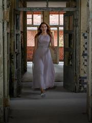 Monique 3 (xfoTOkex) Tags: fashion model woman girl lila violet dress lost place dynamic nikon d800