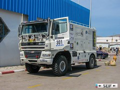 DAF CF85 Tunis Tunisia 2007 (seifracing) Tags: daf cf85 tunis tunisia 2007 seifracing spotting services security seif rescue recovery road cars car camion show event rally
