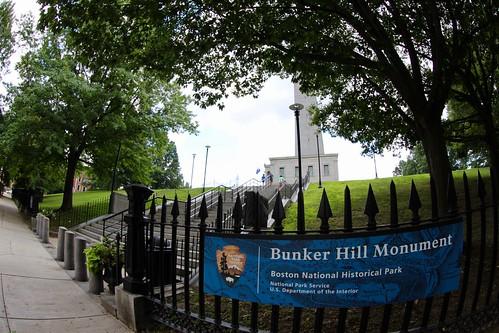 Bunker Hill Monument, Boston MA