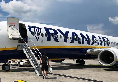 Ryanair in Bergamo - nah