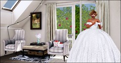 LOTD112 - The BIG DAY Has Arrived (misty.redyard) Tags: catwa maitreya dva ryca lanathetrunkshow dreamlanddesignssenseevent kustom9 hive painting tress flowers mistyredyard virtualrealityworld virtualworld wedding weddingdress hiar meshead mesh womensfashion femalefashion pretty blogger blogging secondlife firestorm furniture secondlifeblogger