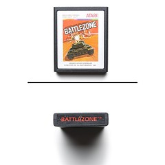 Battlezone for Atari 2600, circa 1984 - Photo by @luisacivardi @verdebinario #console #retrogaming #retrogames #atari #2600 #videogames #gamers #gaming #retroconsole #computer #circuit #maker #laboratory #programmable #tech #tecnology #projects #vintageco (Museo dell'Informatica Funzionante) Tags: musif miai freaknet dyneorg trasformatorio