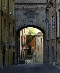 Mondovì (fotomie2009) Tags: piedmont piemonte italy italia mondovì mondvì piazza lamp lampione street arco arch arc old