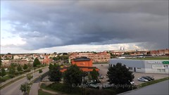 Timelapse Clouds Rainbow Moonrise EXPLORED (Amberinsea Photography) Tags: timelapse clouds sky rain rainbow moon moonrise city cityscape horizon landscape landscapephotography nature naturephotography amberinseaphotography halmstad sweden explore explored