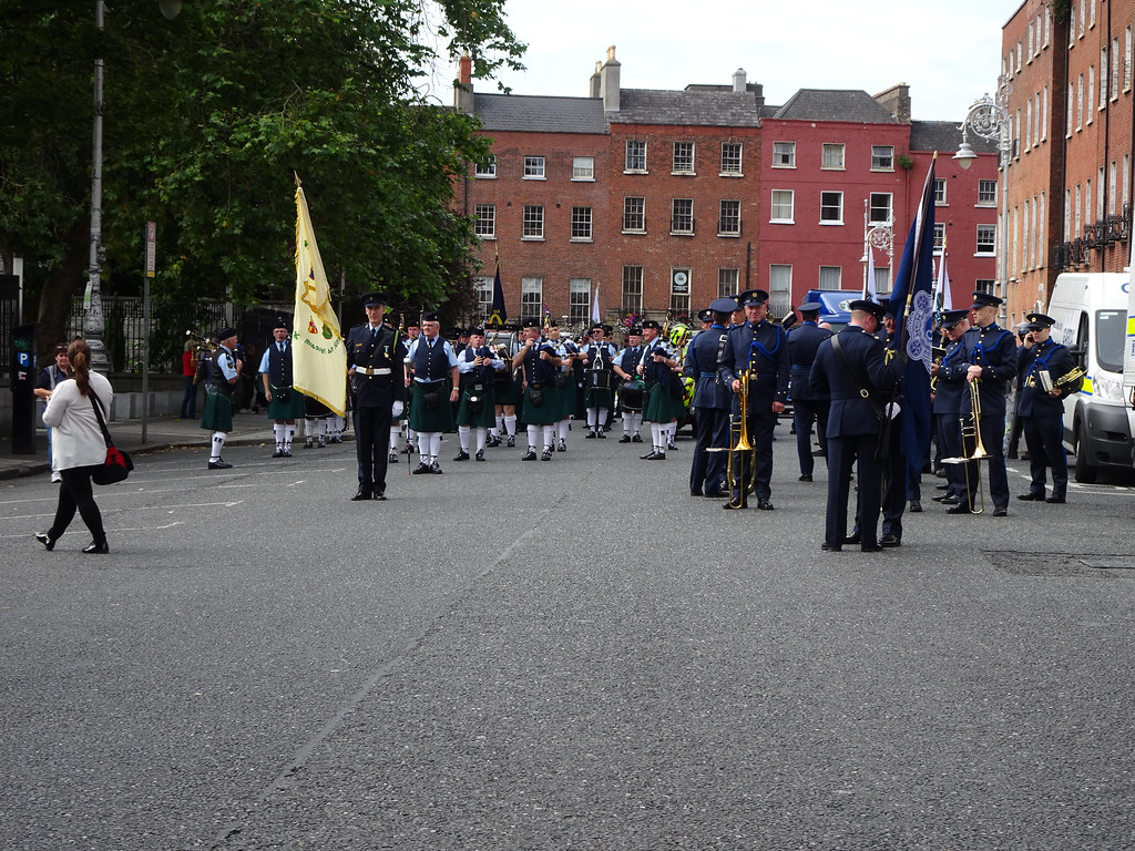 NATIONAL SERVICES DAY [PARADE STARTED OFF FROM NORTH PARNELL SQUARE]-143661