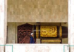 Beduk (A. Yousuf Kurniawan) Tags: beduk streetphotography colourstreetphotography mosque muslim islam minimalism minimalist decisivemoment people wall pattern