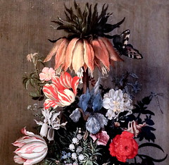IMG_2148A Roelant Savery 1578-1639 Utrecht Large flower still life with crown imperial  Nature morte florale avec couronne impériale 1624 Utrecht Centraal Museum (jean louis mazieres) Tags: peintres peintures painting musée museum museo paysbas netherlands utrecht centraalmuseum roelandtsavery