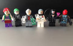 Gotham's outlaws (bricksfreaks) Tags: gotham dc dccomics comics custom customminifigures customfigures customlego lego minifigures minifigs batman thejoker jokersdaughter catwoman redhood carminefalcone rupertthorne villains superheroes