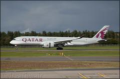 A7-ALN Airbus A350-941 Qatar Airways (elevationair ✈) Tags: egph edi edinburgh edinburghairport uk unitedkingdom scotland avgeek aviation airplane plane aircraft arrival sun sunny sunshine qatar qatarairways airbus a350 a359 airbusa350941 a7aln