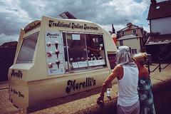 Ice Cream (ChrisRS197) Tags: leica28mmelmarit kent whitstable sonya7 seaside coast icecream