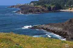 DSC_2459 ~ Rocky Creek State Scenic Viewpoint OR (stephanie.ovdiyenko) Tags: rockycreekstatescenicarea oregon oregoncoast pacificocean pacificnorthwest pacificcoast rockyshoreline shoreline rocks beach landscape scenicview ocean