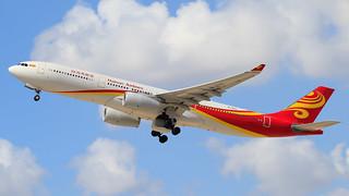 TLV - Hainan Airlines Airbus A330-300 B-1021