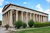The Temple of Hephaestus. Athens, Greece.