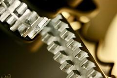 corkscrew ... (u. Scheele) Tags: macro makro macromondays mm indoor nahaufnahme canon canoneos80d closeshot closeup unschärfe eos80d eos tamron digital gear corkscrew korkenzieher metall metal sprocket tooth zahn zinken zacke zacken zinke fuzziness unsharpness bottleopener