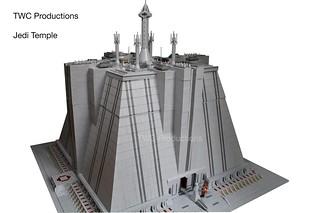 Jedi Temple in LEGO