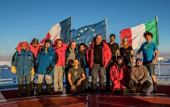 The DC14 crew (europeanspaceagency) Tags: esa europeanspaceagency space universe cosmos spacescience science spacetechnology tech technology humanspaceflight concordia antarctica base research researchstation