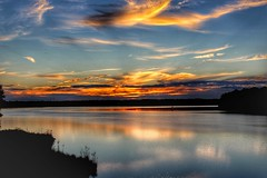 Longing for sunsets (Sam0hsong) Tags: sunsets lakecrabtree northcarolina